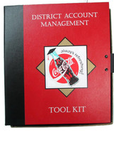 Coca-Cola  Vintage District Account Management Tool Kit- UNIQUE ITEM - $44.55