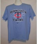 Mens Large Nike Minnesota Twins MLB Baseball T Shirt - $14.52