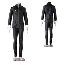 Tokyo Ghoul Kaneki Ken Black Coaplay Costume Long Sleeve Suit - $81.35