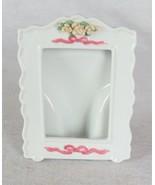 """Ceramic Picture Frame Holder 5-1/2 x 4-1/2"""" Outside Diameter - $12.86"""