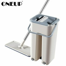 ONEUP Magic Cleaning Mop Bucket Hands-free Floor Cleaning Mop Dry And Wet Use - $63.06+