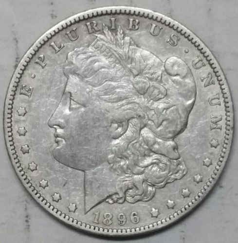 1896O Morgan Dollar Silver Coin Lot E 62