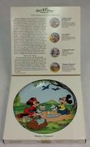 """Walt Disney """"Shades of Summer"""" Schmid Plate - $12.00"""