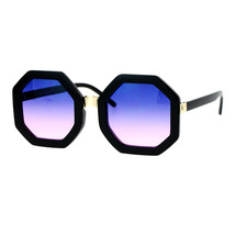 Octagon Shape Sunglasses Womens Unique Oversized Fashion Shades - $10.84+