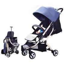 Ticolor baby stroller graceful luxury infant carriage safety performance can sit or lie thumb200