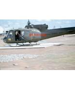 Original Vietnam Helicopter United States Army 35mm Photo Slide - $29.69
