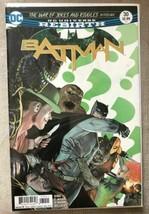 BATMAN #30 November 2017  DC Universe Rebirth King C. Mann Bellaire - $17.81