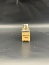 Vintage Caron Bellodgia Baccarat Style Perfume Bottle W/ Fragrance .5oz ... - $59.39