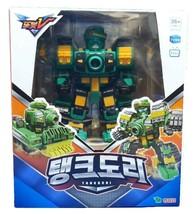 Tobot V Tankdori Transformation Action Figure Robot Vehicle Tank Toy image 1