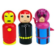 Bif Bang Pow! Marvel Classic Set of 3 Iron Man, Black Widow, Hawkeye - $11.10