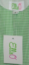Ellie O Gingham Full Lined Longall Size 2 Color Green Cotton Polyester Blend image 2