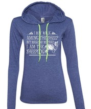 I Am The Sheepdog T Shirt, Favorite T Shirt, I Love Sheepdog T Shirt (Anvil Ladi - $37.99+