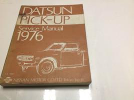 1976 Datsun Pick Up Truck Service Reparatur Shop Werkstatt Manuell Fabri... - $79.15