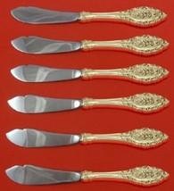 Grand Majesty By Oneida Sterling Silver Trout Knife Set HHWS 6-Piece Custom - $549.00