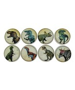 Set of 8 Dinosaur Wood Cabinet Knobs - $37.19