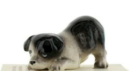 Border Collie Puppy Ceramic Dog Figurine - Miniatures by Hagen-Renaker, INC - $7.29