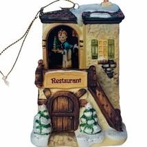Hummel Christmas ornament figurine goebel Bavarian Bradford winter comfo... - $29.65