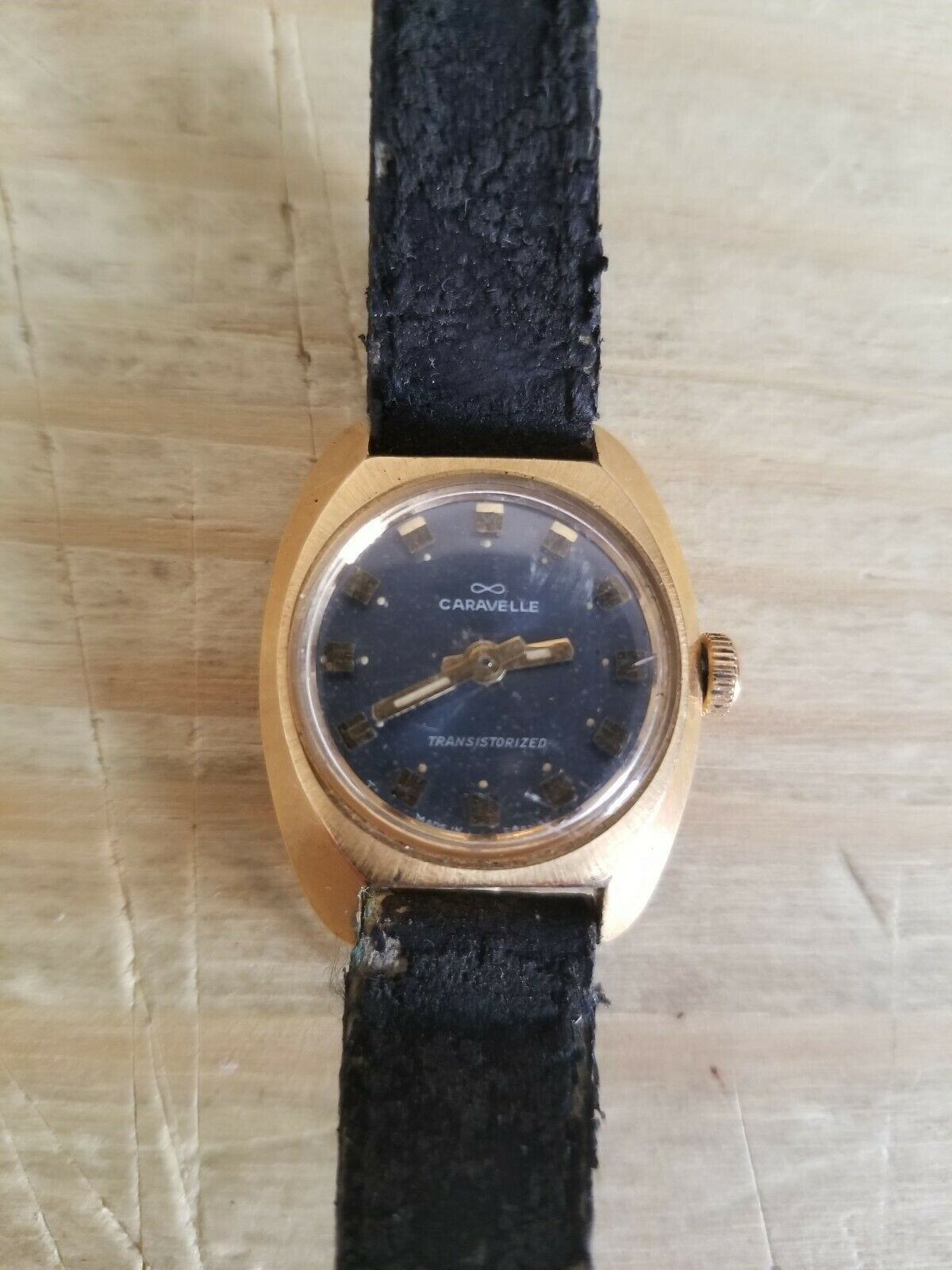 Primary image for Vintage Women's Caravelle Transistorized Watch.UNTESTED.SOLD AS IS.