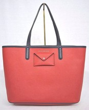 NWT! Marc Jacobs  M0005327 Metropolitote Colorblocked Tote 48 in Rosey Red - $199.00