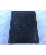 Antique 1891 IOOF Odd Fellows HOLY BIBLE 1891 Telilah Lodge No. 285 Masonic - $197.95