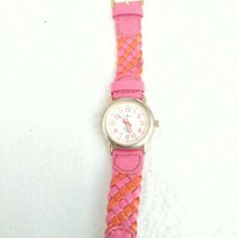 Time4Kidz Watch - Valdawn Vintage Water ressistant  Pink Leather Strap image 2