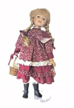 """Vintage Delton Products Collection Doll 18"""" Pig Tails, Country w/ Lovely... - $39.59"""
