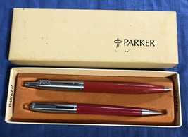 Vintage 1967 Boxed Parker Pen & Mechanical Pencil - No. 139/227 - $13.36