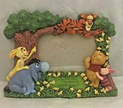 Disney Classics Winnie The Pooh Vintage resin frame for shelf table kids room - $14.84