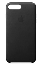 Apple Leather Case (for iPhone 8 Plus / iPhone 7 Plus) - Black   - $39.95