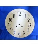 "Clock Dial 11 3/4 "" Time Track 10 1/4 "" Black Arabic Numerals - $15.00"