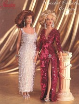 1955-1965 Jeweled Hollywood Gowns for Barbie Paradise 86 Crochet PATTERN Booklet - $5.37