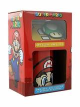 Super Mario Mario Mug, Coaster and Keychain Gift Set - $11.87