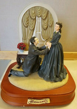 San Francisco Music Box Co Gone With The Wind Marriage Proposal Rhett & ... - $139.99