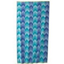 NEW! Sonoma Outdoors Turkish Cotton Beach Towel - Blue chevron print - $24.72