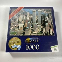 New York City 2001 Commemorative Edition 1000 Piece Perfalock Puzzle Twin Towers - $19.99