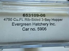 Intermountain # 653109 Evergreen Hatchery Inc. 4750' 3-Bay Covered Hopper (N) image 6