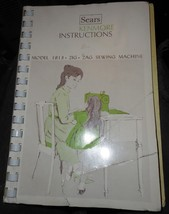 Kenmore 158.1813 Instruction Booklet Complete Useable - $10.00