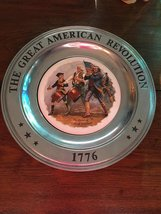 The Spirit Of '76 Canton Pewter The Great American Revolution 1776 Vintage Patri - $24.74