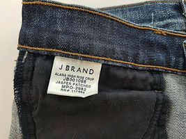 new J BRAND women jeans Jasper Patched JB001098 high rise crop 26 blue MSRP $298 image 10