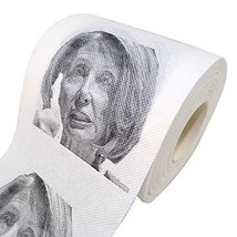 Minch Nancy Pelosi Toilet Paper, Novelty Political Gag Gift - Staring Toilet Pap