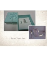 Silver Sterling 925 Kitty Cat Ring Gift Boxed Size 6 - $11.99