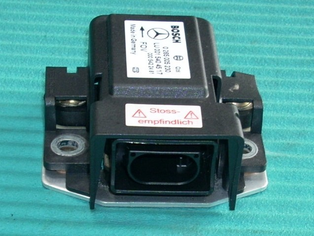 2002 MERCEDES S55 YAW RATE SENSOR 0265005230