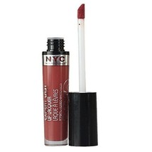 Nyc - Lip Lacquer - Covering Lip Gloss - 600 Turtle Bay Toffee - Glossy Bronze - $4.73