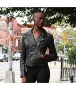 whetblu Women's Motorcycle Leather Jacket WBL1507 | Betsy - $229.99