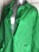 Women's SAG HARBOR Green Rain Windbreaker Jacket Size M Medium-Lightweig... - $9.89