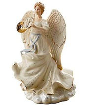 "Heavenly Fanfare Millennium Angel 2018 Figurine 12.25""H W/French Horn New in Box - $139.90"