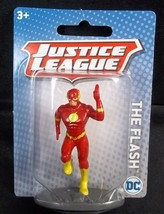 "Justice League The Flash 2.75"" PVC figurine Cake Topper Stocking Stuffer... - $3.25"