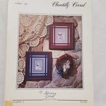 Chantilly Corral Cross Stitch Pattern Leaflet Book 2 Stoney Creek 1984 S... - $9.99