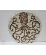 Coastal Collection Beach Octopus Beaded Chargers Placemat 1,2, or 3 - $32.99