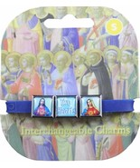 Roxo Show Your Faith Hearts of Jesus and Mary Interchangeable Bracelet N... - $9.75
